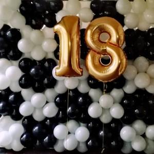 Balony I Dekoracje Na 18 Urodz Etna Balony Z Helem Warszawa