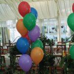 Balony lateksowe z helem bukiety Warszawa