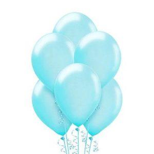 Balony jasno niebieskie delikatny kolor