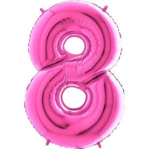 Balon na osiemnastkę z helem dekoracja na urodziny osiemnaste