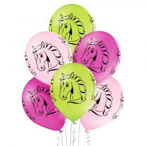 Balony z helem idealne dla miłośników koni