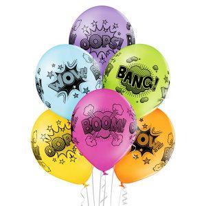 Balony dekoracja dla fanów marwel batman spiderman komiksy