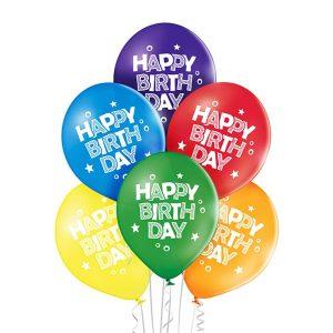 Kolorowe małe balony lateksowe na urodziny tanie balony z helem Warszawa