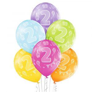 Balony na drugie 2 urodziny dla dziecka