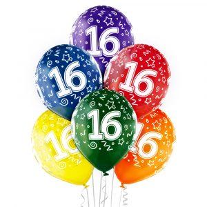 Balony na 16 urodziny dziecka z helem Warszawa