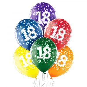 Balony z helem na 18 urodziny Warszawa