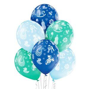 Balony na Baby Shower z helem - Warszawa i okolice