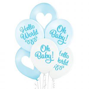 Balony na narodziny dziecka syna chłopca