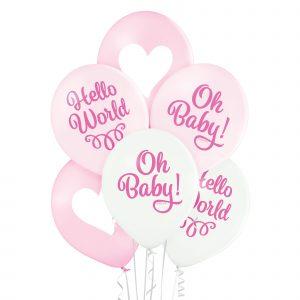 Balon na narodziny dziecka dziewczynki Baby Girl