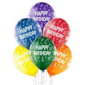 Balony lateksowe urodzinowe