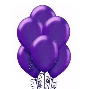 Balon lateksowy w kolorze ciemnego fioletu