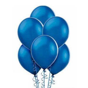 Balon ciemno niebieski