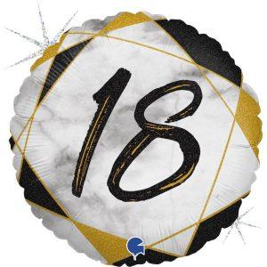 Balon na 18 urodziny z helem Warszawa