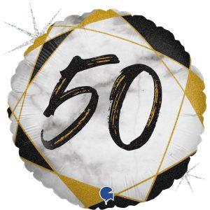 Balon na 50 urodziny męża żony rodznice