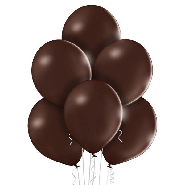 Balon czekoladowy brąz