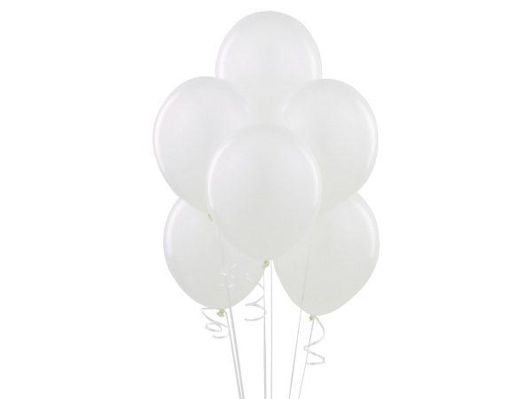Balon biały z helem