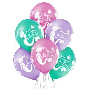 Balony z helem na morskie przyjęcie