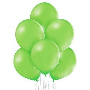 Kolorowe balony napompowane helem