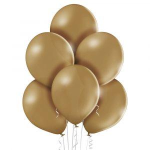 Balony w kolorze migdałowym
