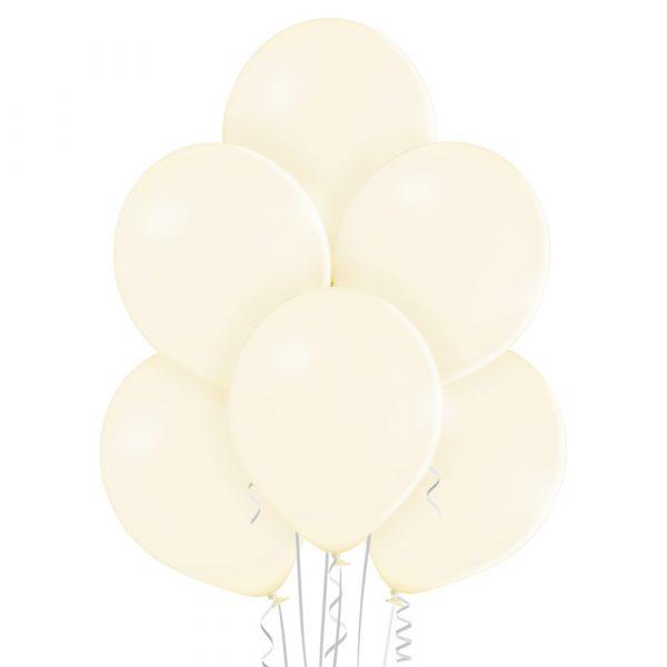 Balon w kolorze waniliowym