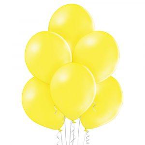 balony lateksowe żółte