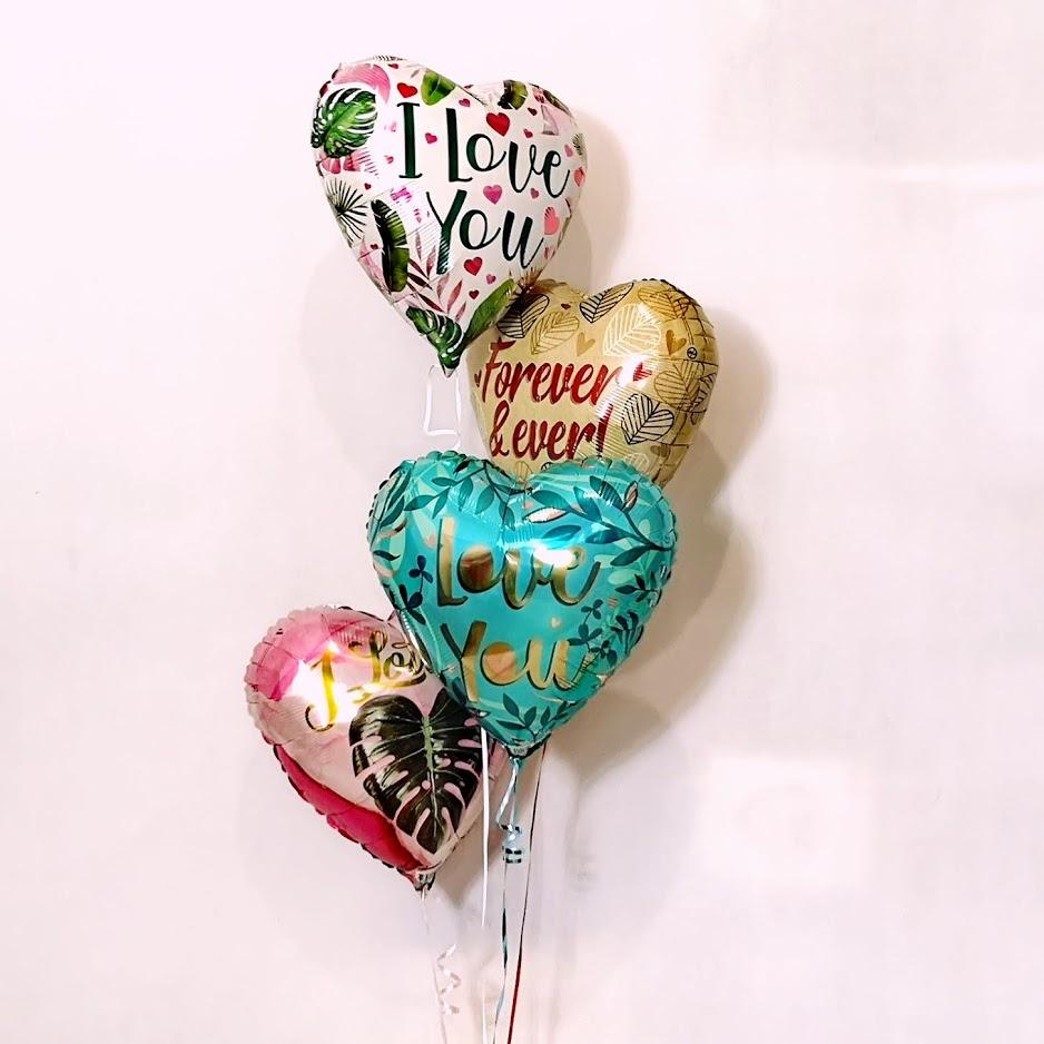 Balony foliowe z recyklingu na Walentynki dla zakochanych wesele.jpg