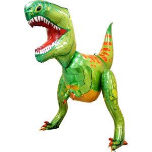 Balony z helem w kształcie dinozaura