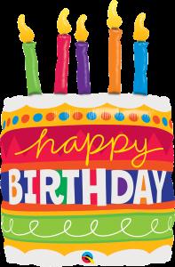 Balony foliowe urodzinowe