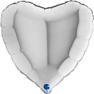 Balony z helem w kształcie serca