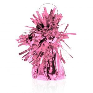 Ciężarek do balonów w kolorze różowym